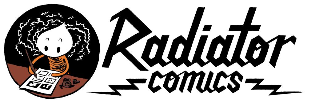 Radiator Comics Logo
