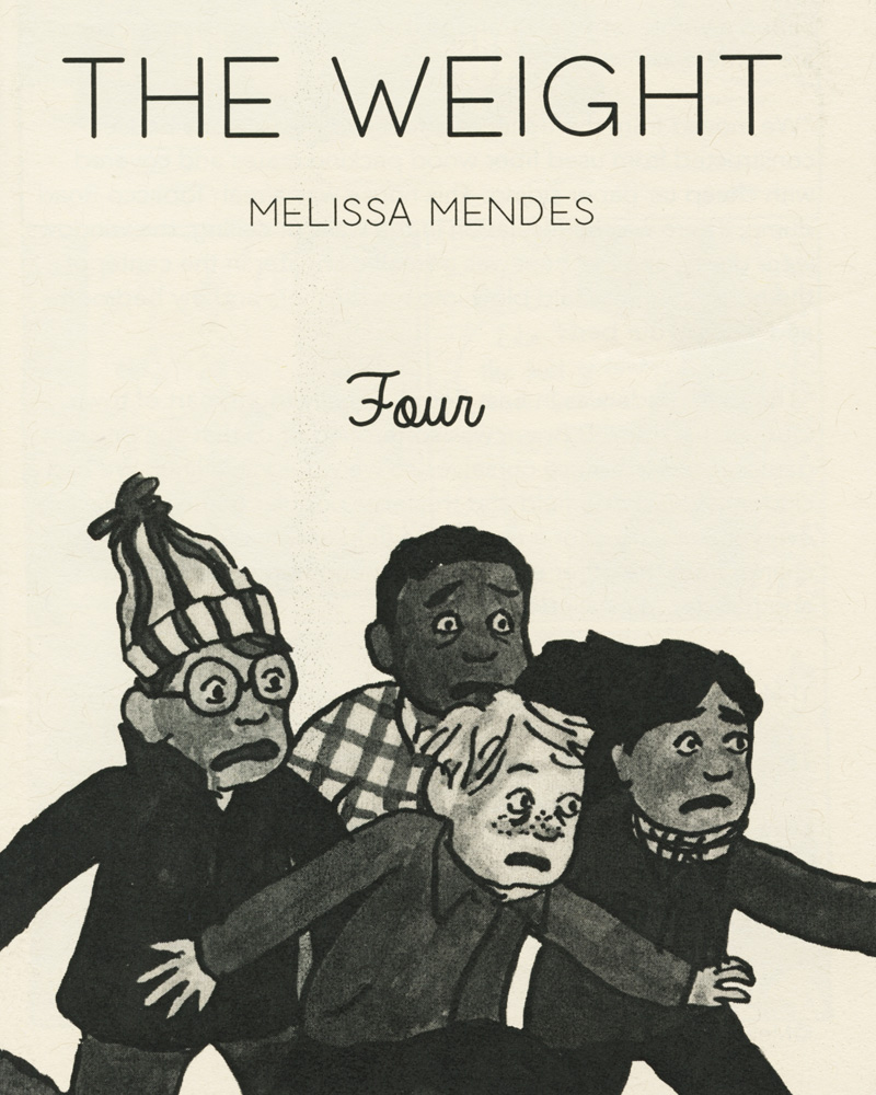 The Weight No. 4 by Melissa Mendes