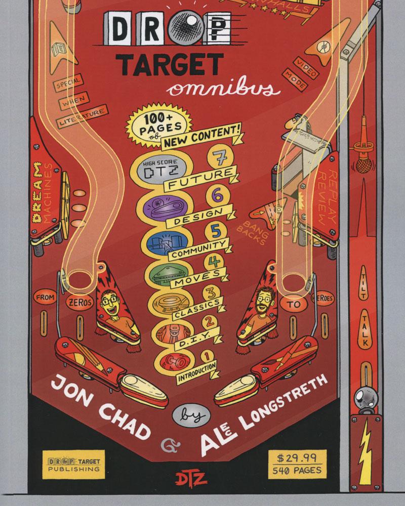 Drop Target Omnibus by Jon Chad & Alec Longstreth
